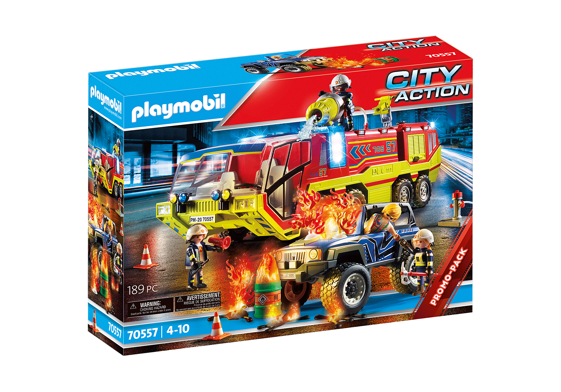 70557 Fire Engine with Truck zoom image2