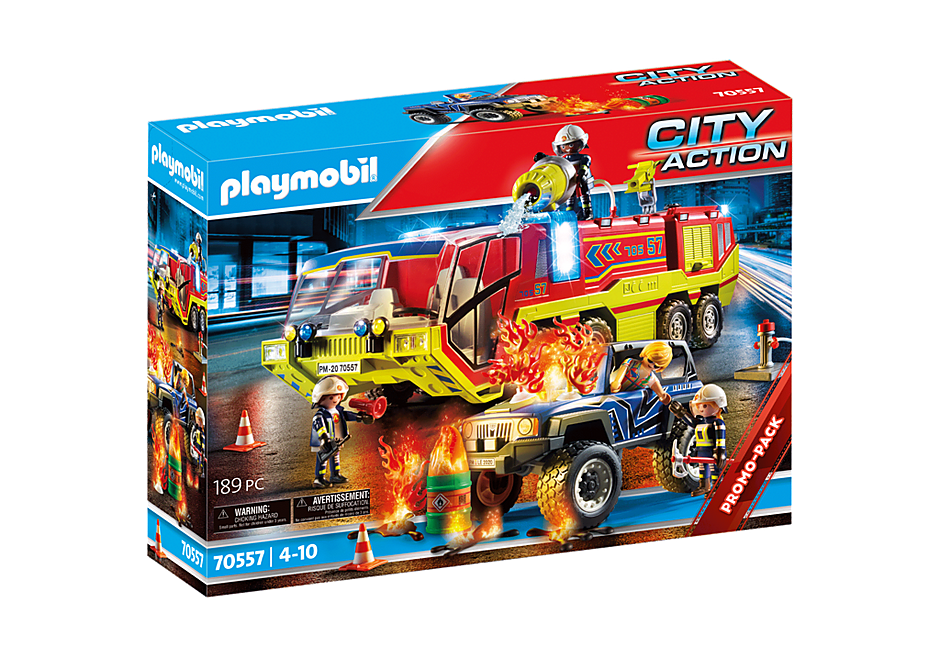 70557 Fire Engine with Truck detail image 2