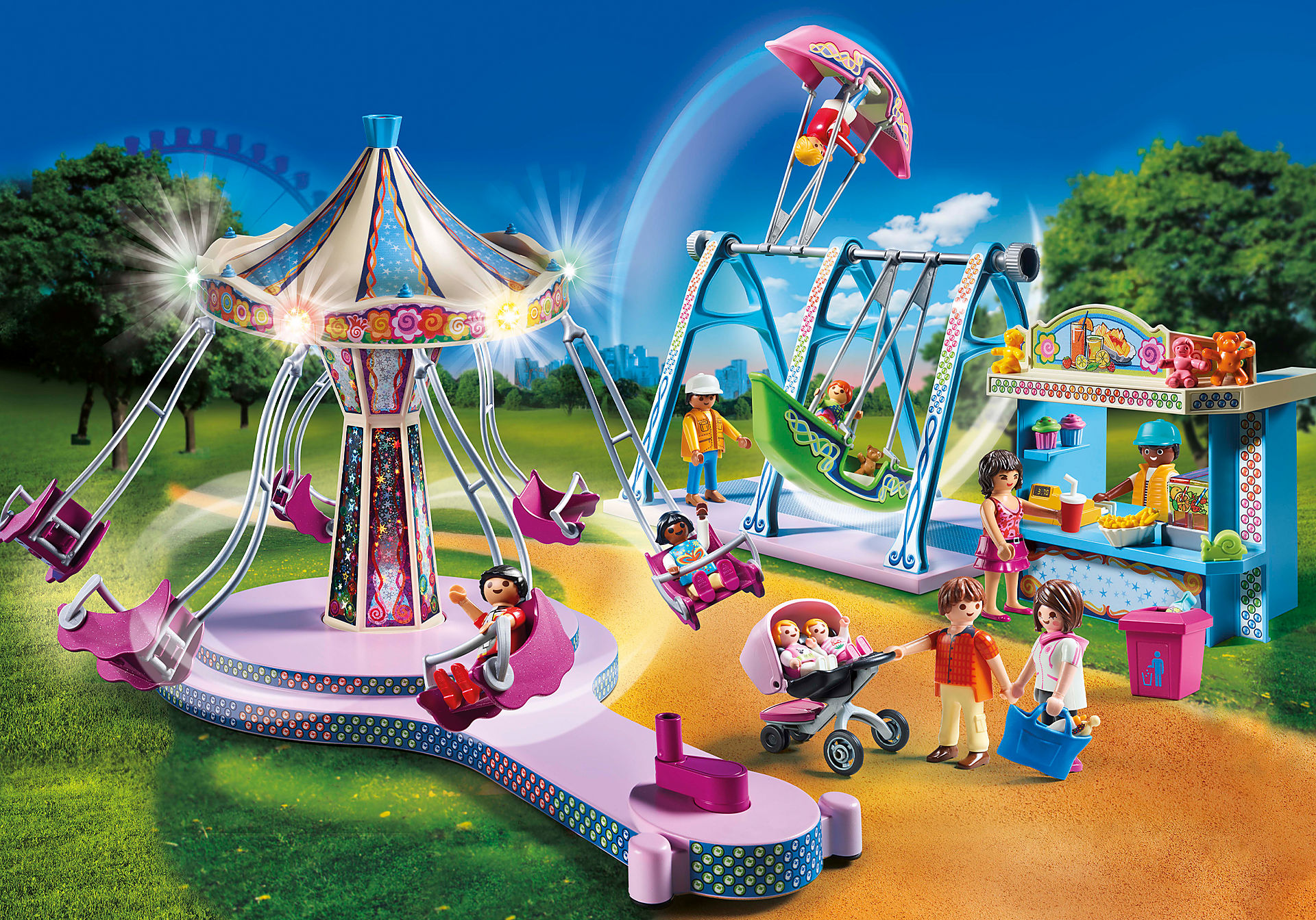 70558 Parc d'attractions zoom image1