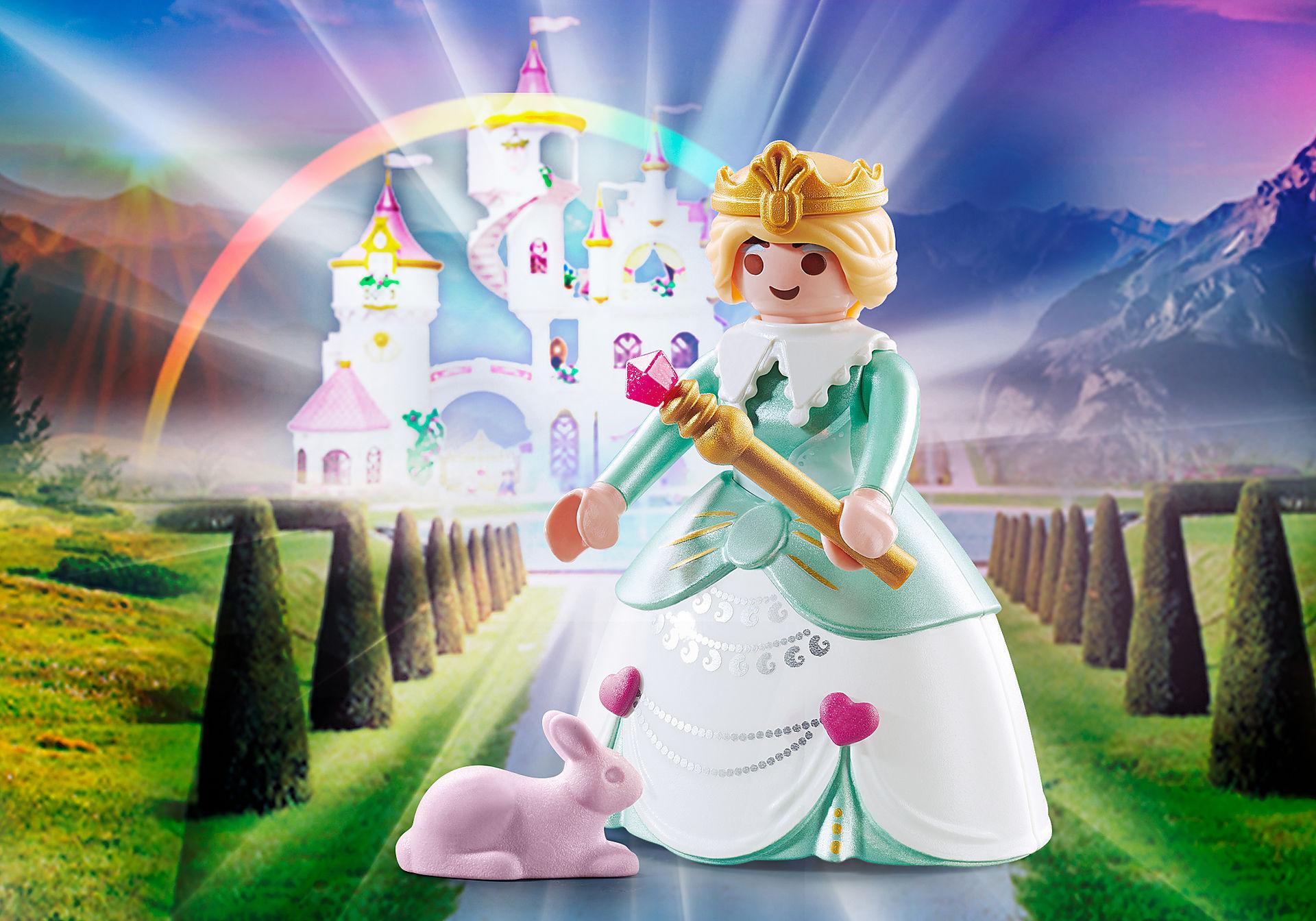 70564 Principessa con coniglietti zoom image1