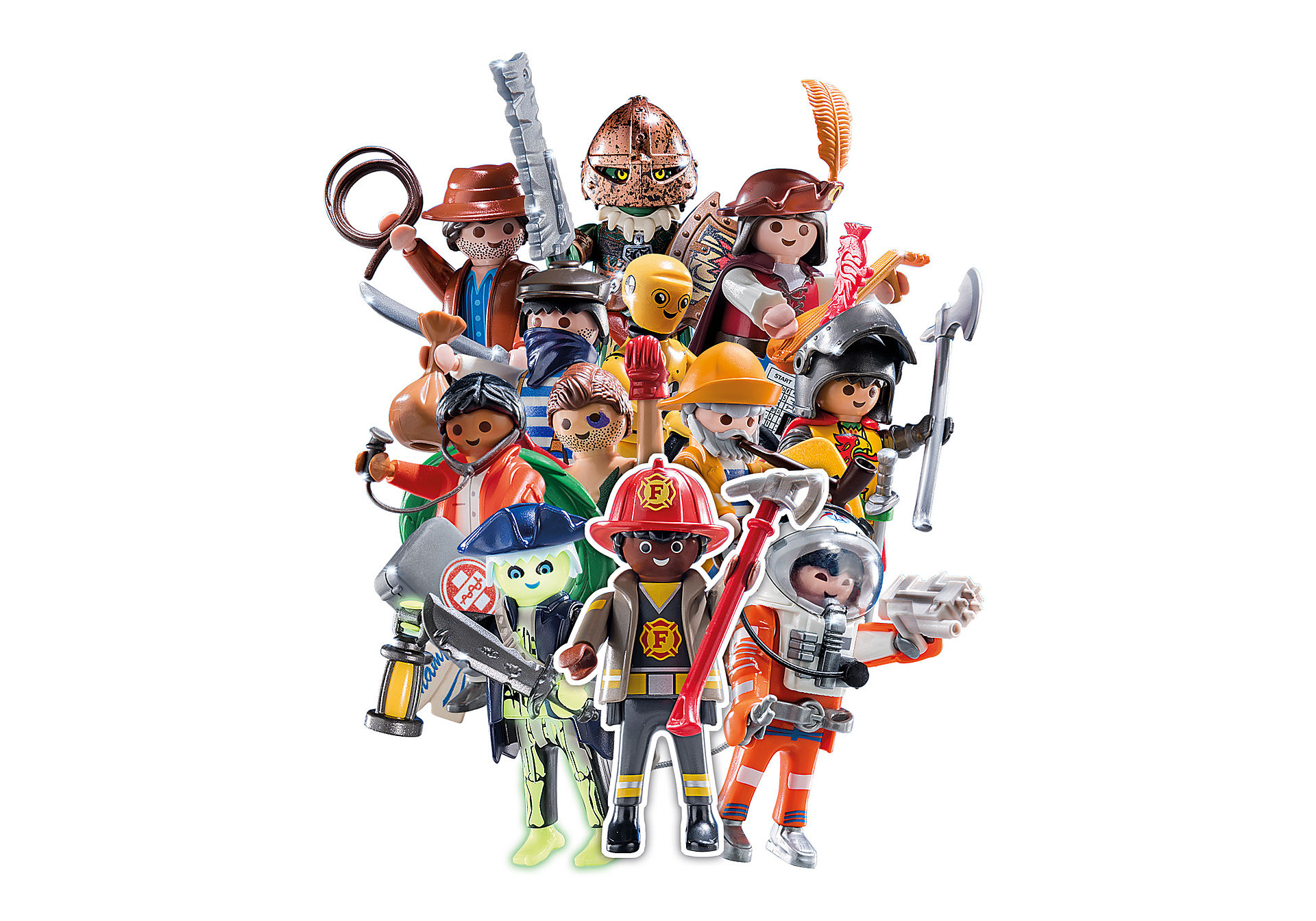 70565 PLAYMOBIL Figures Series 19 - Boys zoom image1