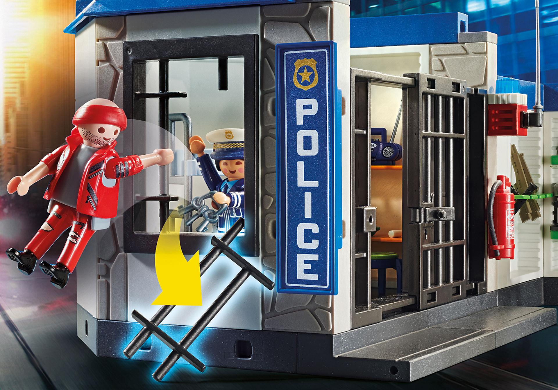 70568 Police Poste de police et cambrioleur zoom image4