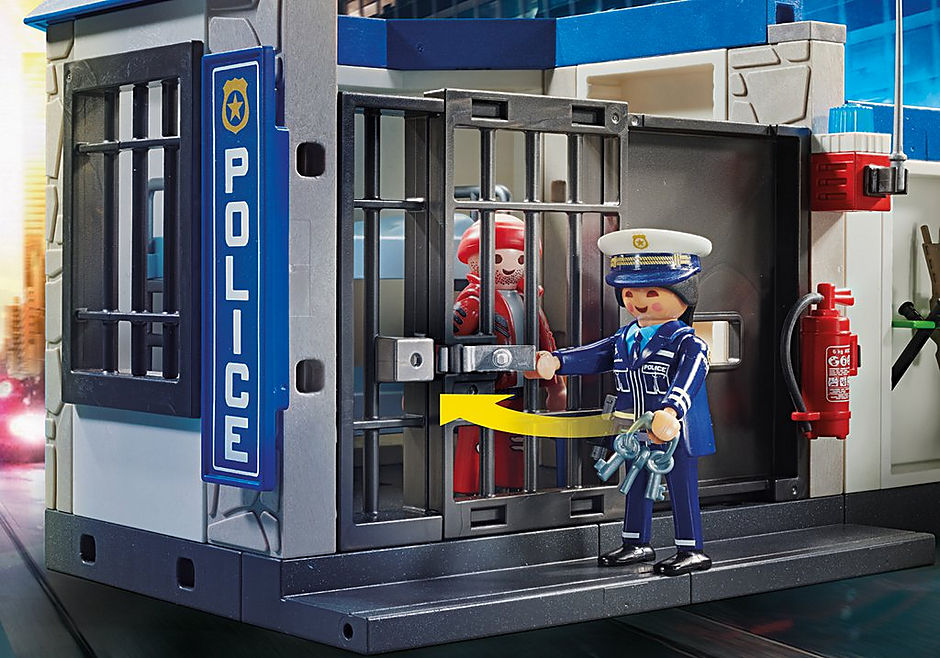 70568 Police Poste de police et cambrioleur detail image 5