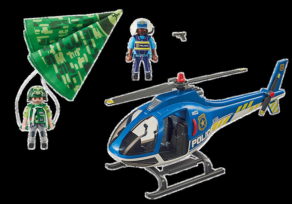70569 Polizei-Hubschrauber: Fallschirm-Verfolgung detail image 4