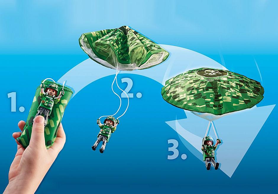70569 Hélicoptère de police et parachutiste detail image 5