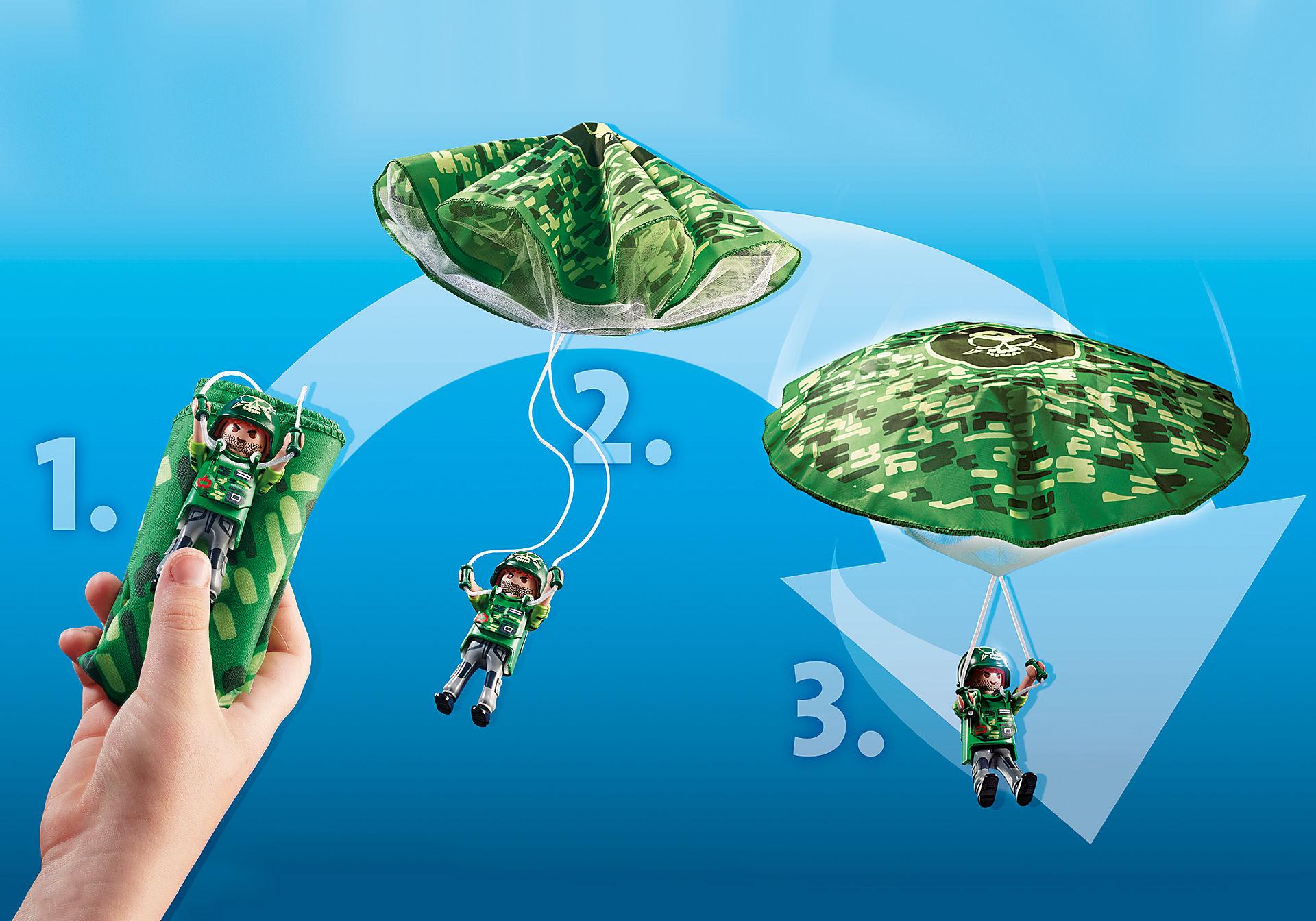 70569 Hélicoptère de police et parachutiste zoom image5
