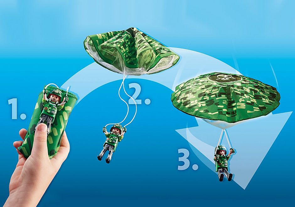 70569 Policyjny śmigłowiec: Ucieczka ze spadochronem detail image 5
