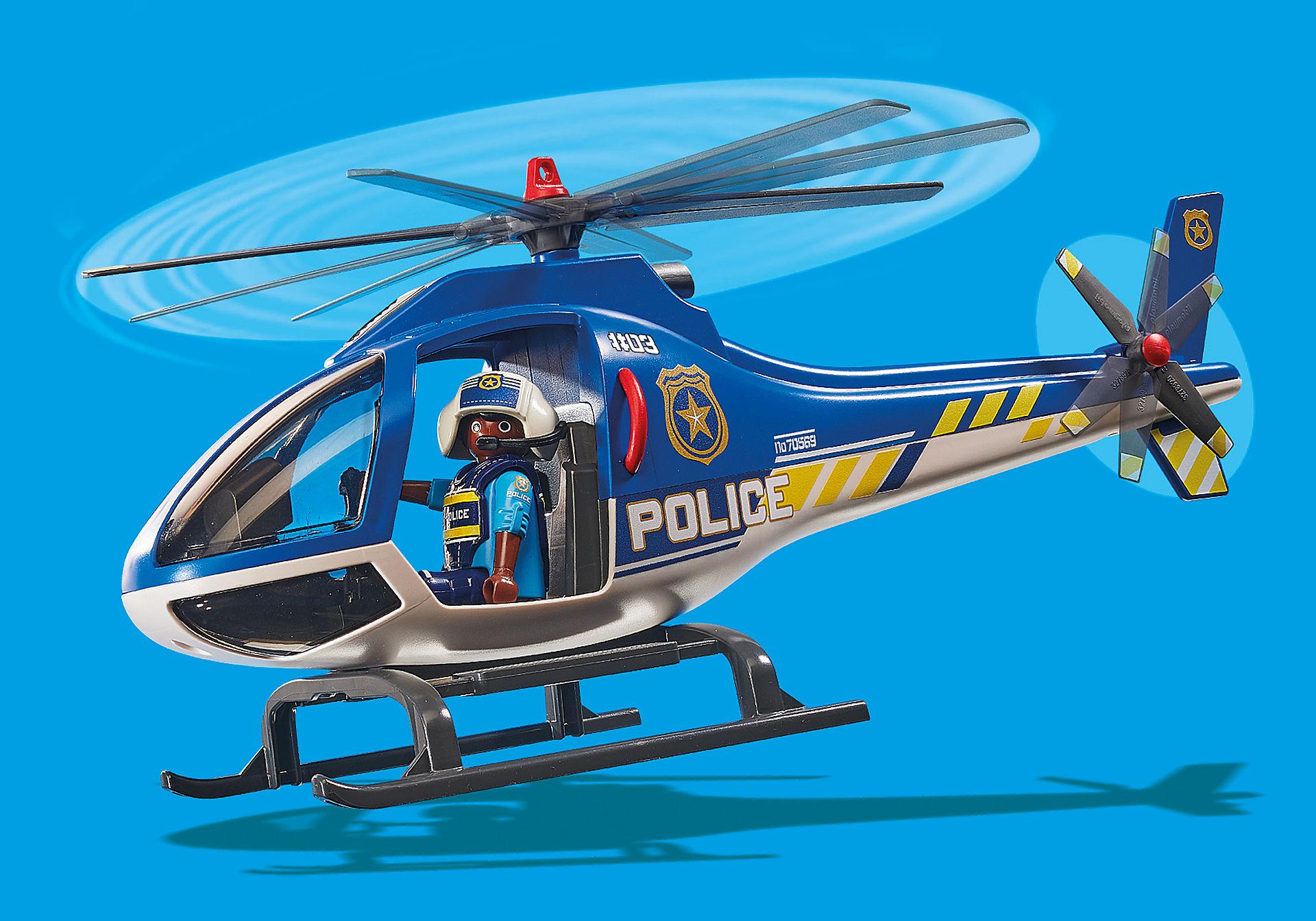 70569 Hélicoptère de police et parachutiste zoom image6
