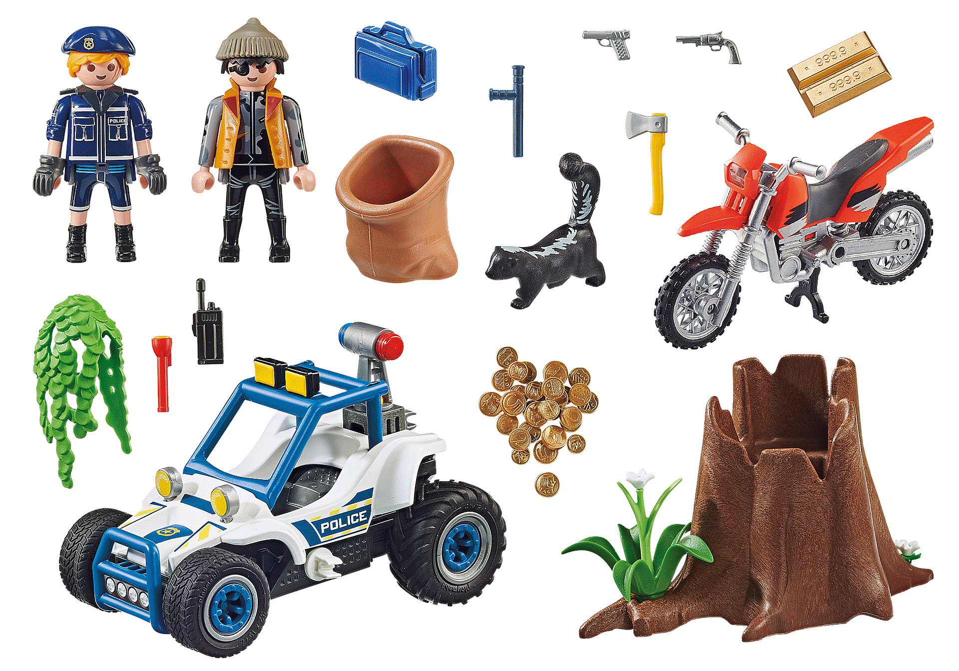 70570 Police Off-Road Car with Jewel Thief zoom image3