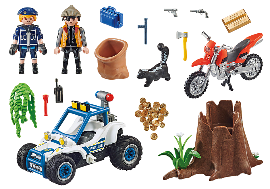 70570 Police Off-Road Car with Jewel Thief detail image 3