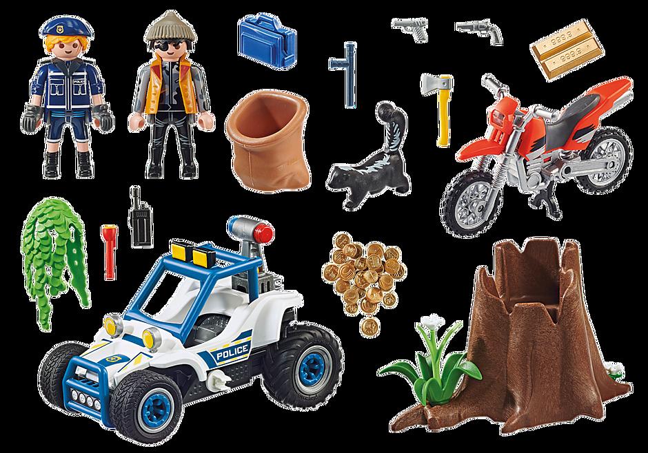 70570 Vehículo Todoterreno de Policía: persecución del ladrón de tesoros. detail image 3
