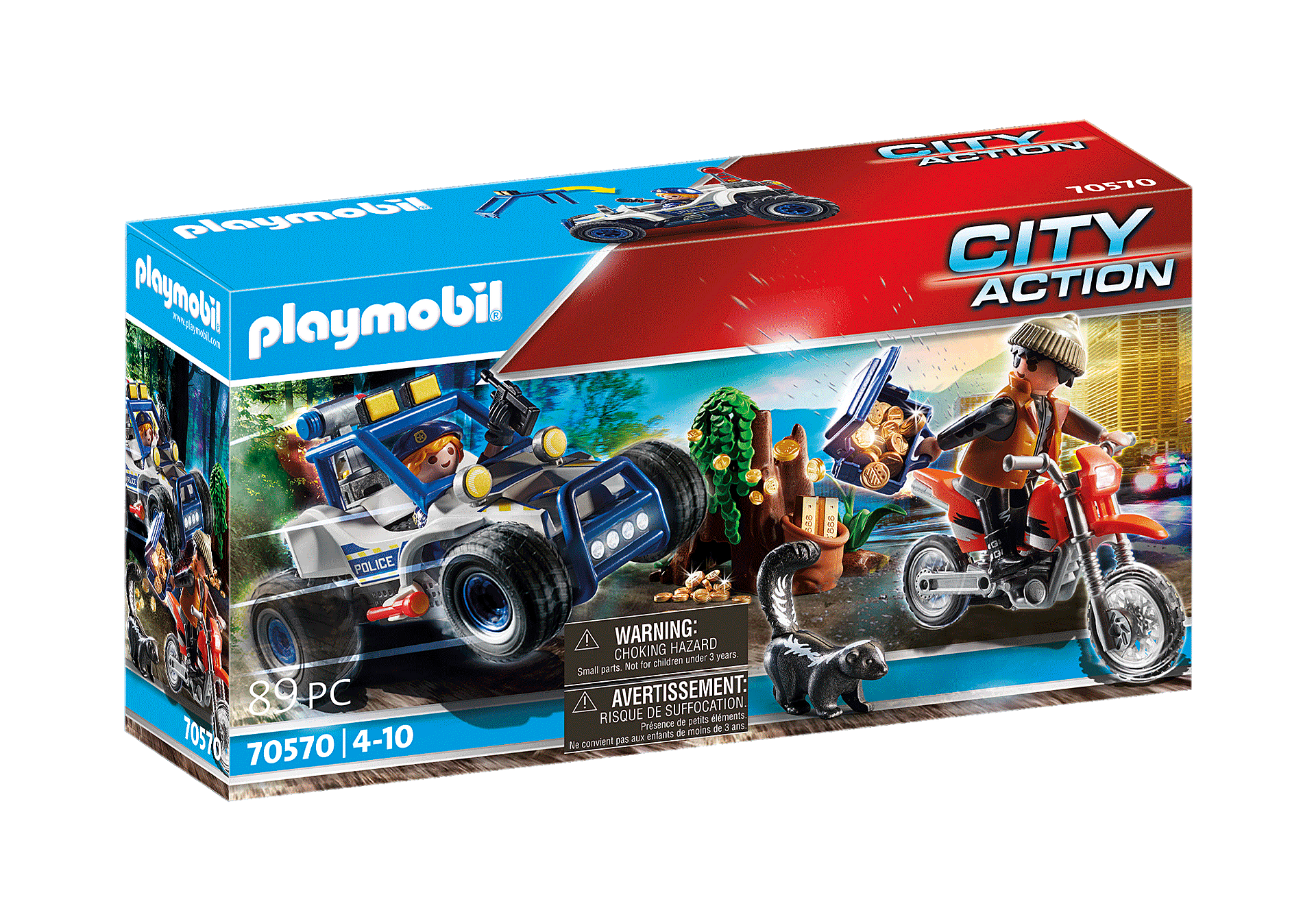 70570 Police Off-Road Car with Jewel Thief zoom image2