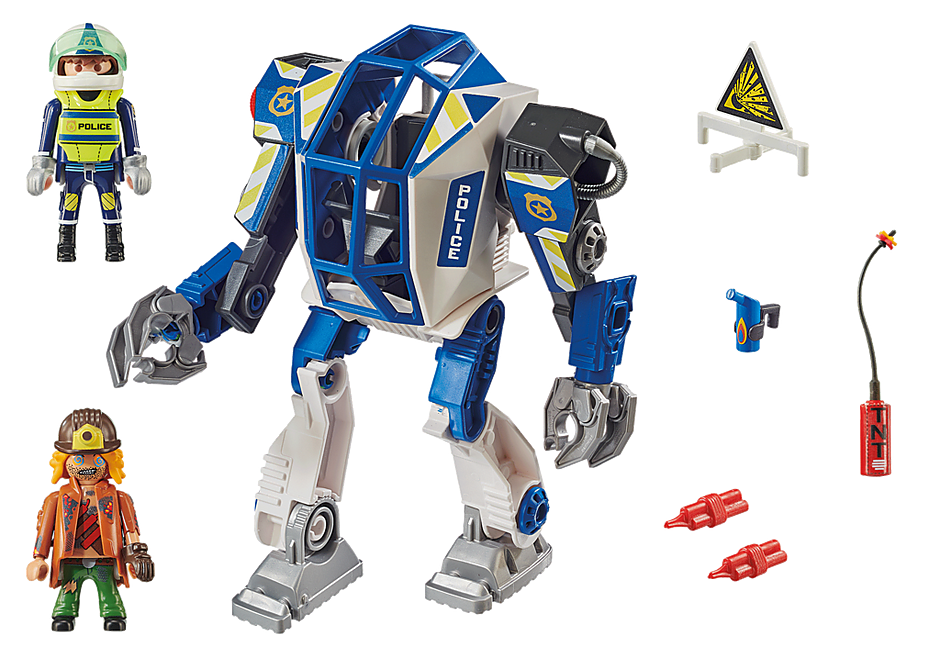 70571 Police Robot de police detail image 3