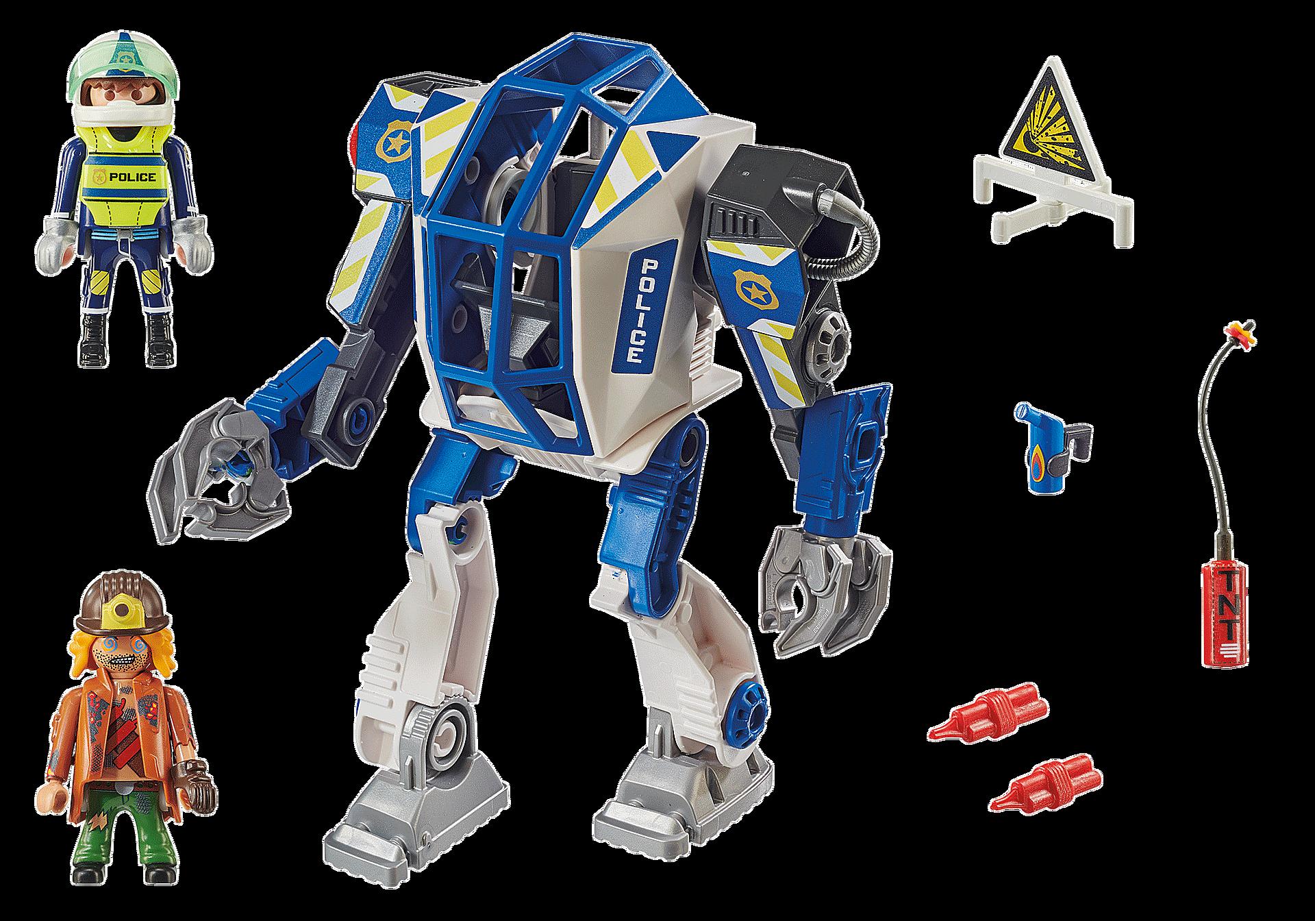 70571 Robot della Polizia e bandito zoom image3