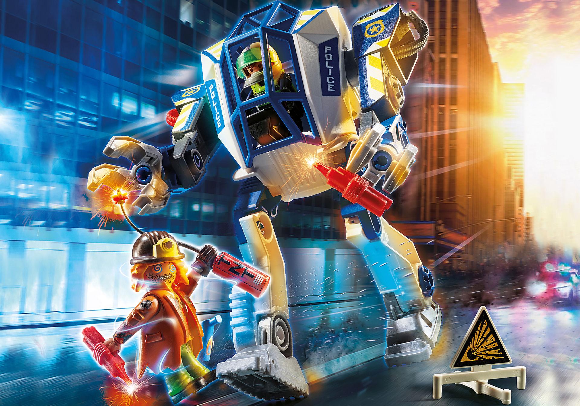70571 Robot della Polizia e bandito zoom image1