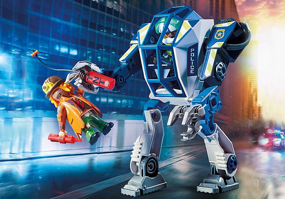 70571 Robot della Polizia e bandito detail image 4
