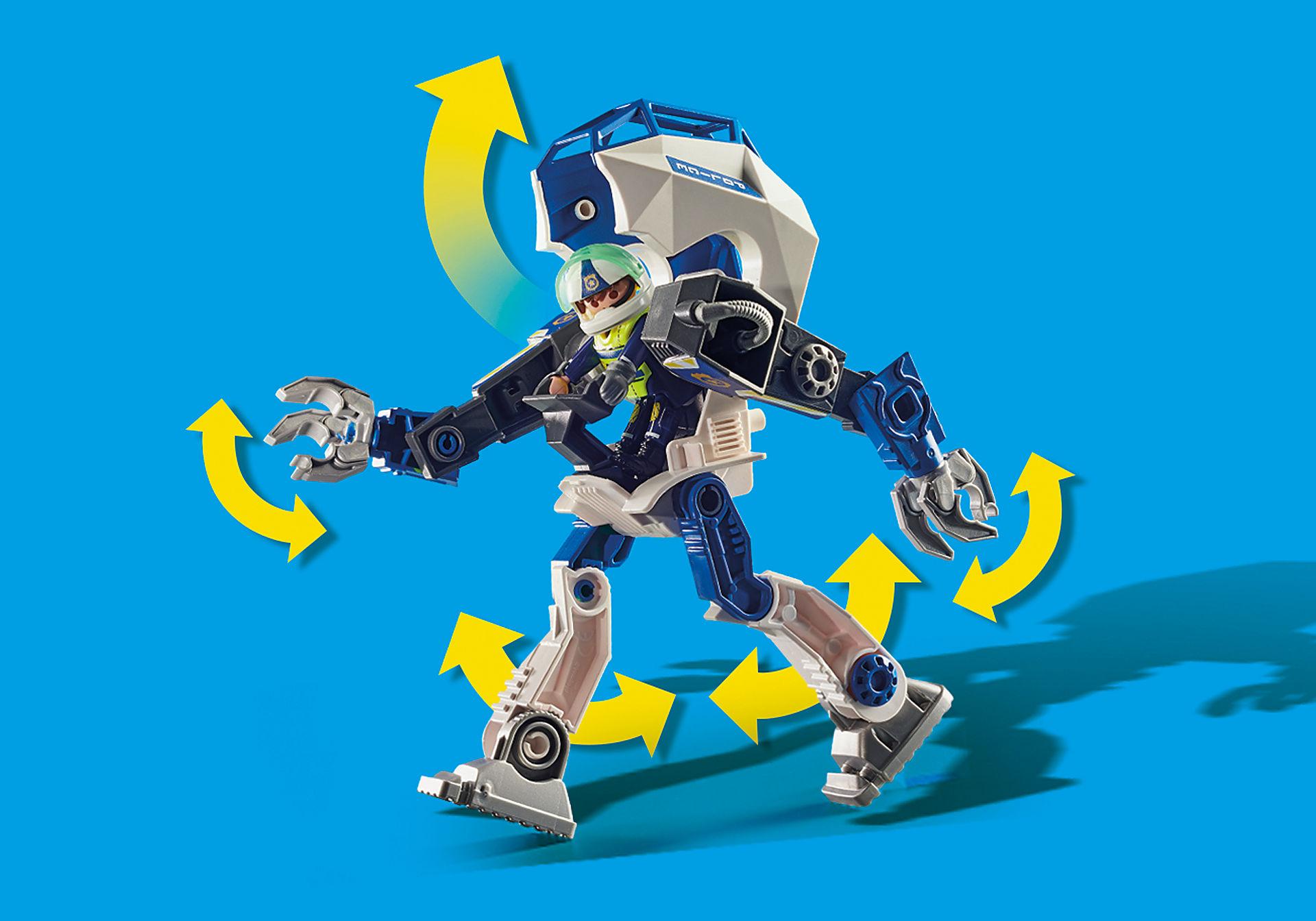 70571 Robot della Polizia e bandito zoom image7