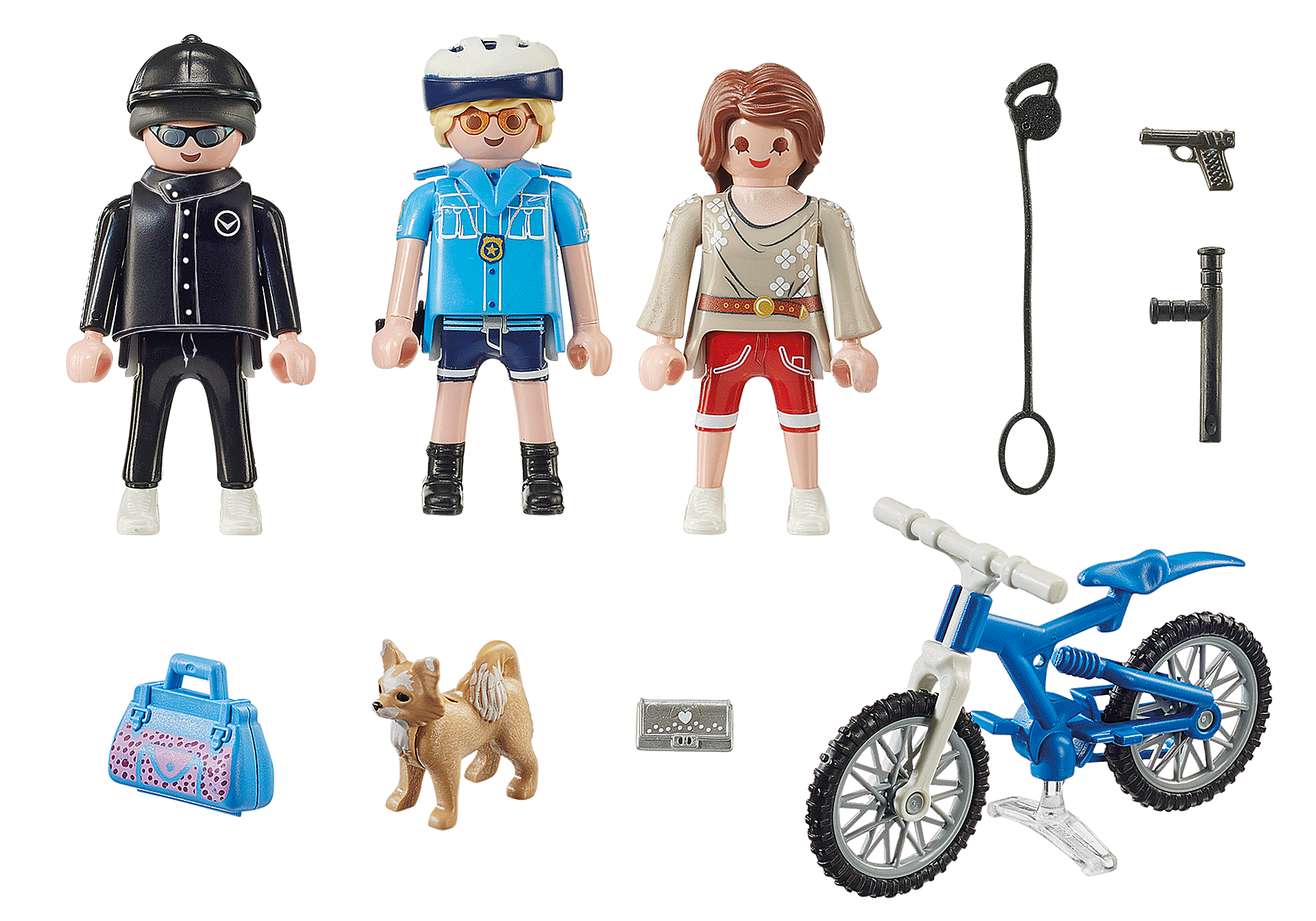 70573 Police Bicycle with Thief zoom image3