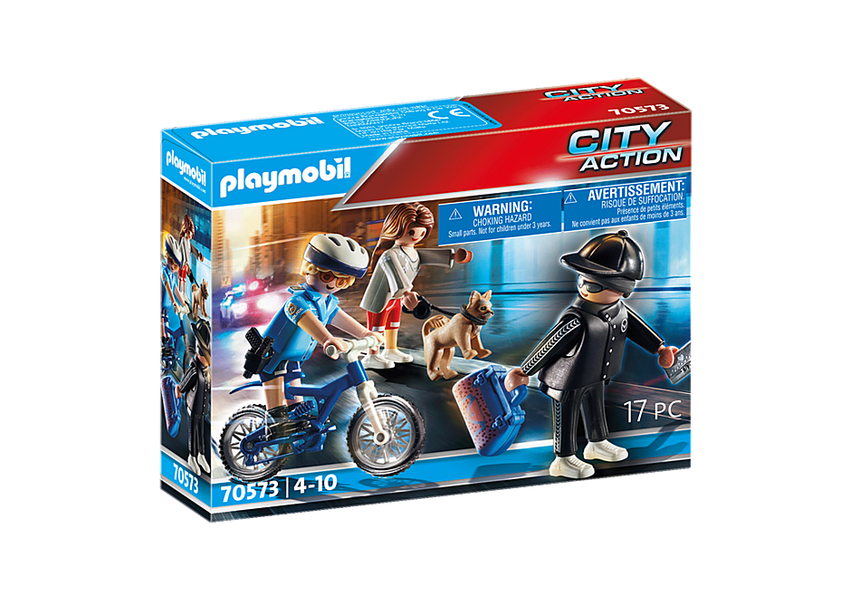 70573 Policyjny rower: Pościg za kieszonkowcem  detail image 2