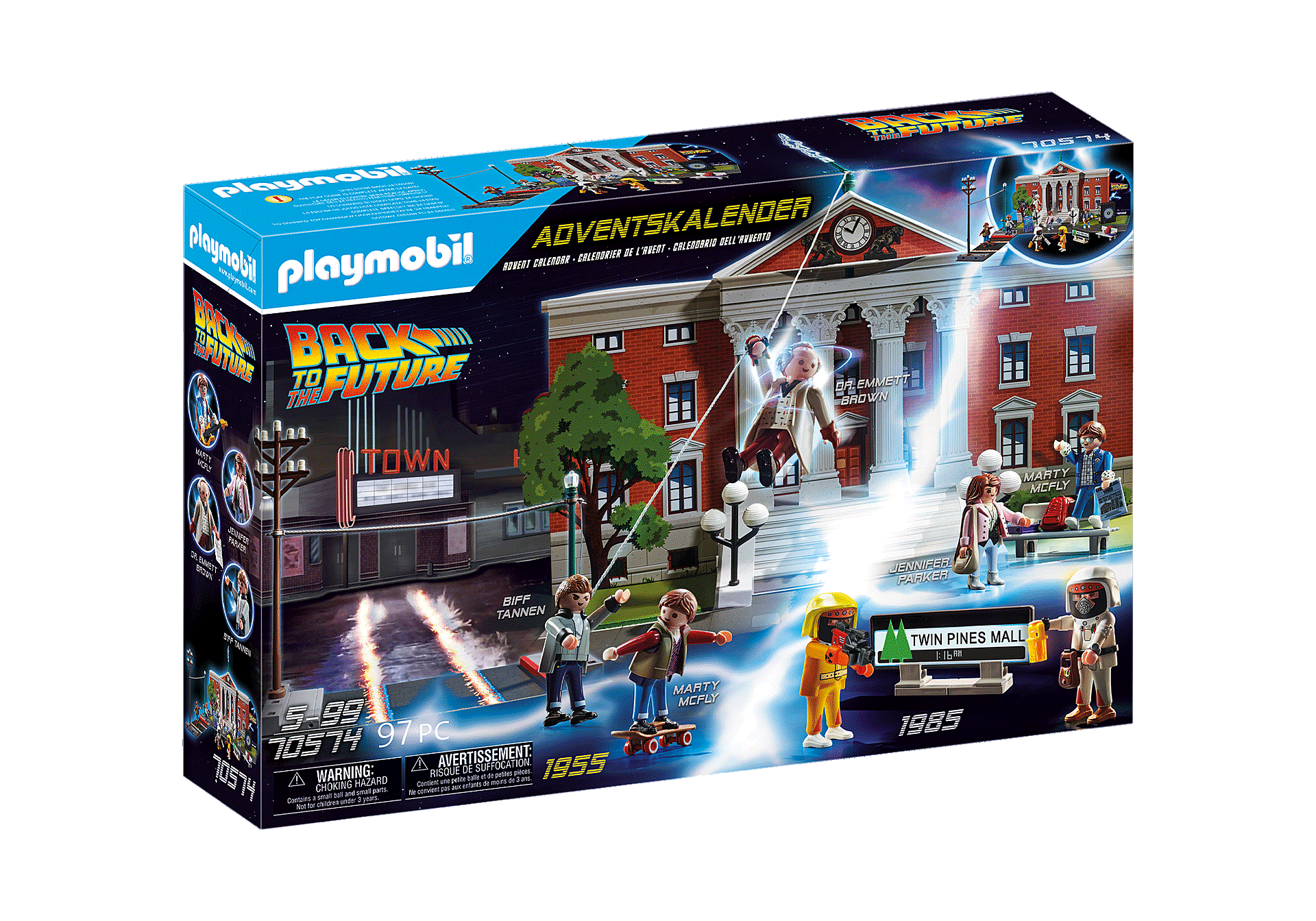 70574 Back to the Future Advent Calendar zoom image2