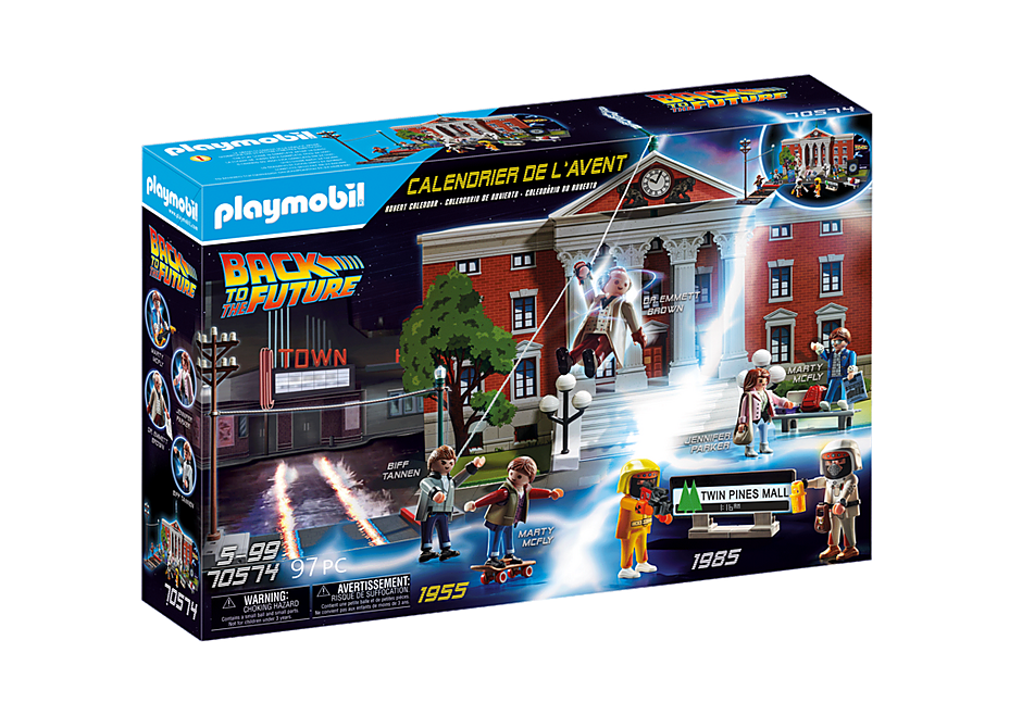 70574 Calendrier de l'Avent 'Back to the Future' detail image 2