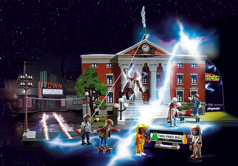 70574 Calendrier de l'Avent 'Back to the Future' detail image 4