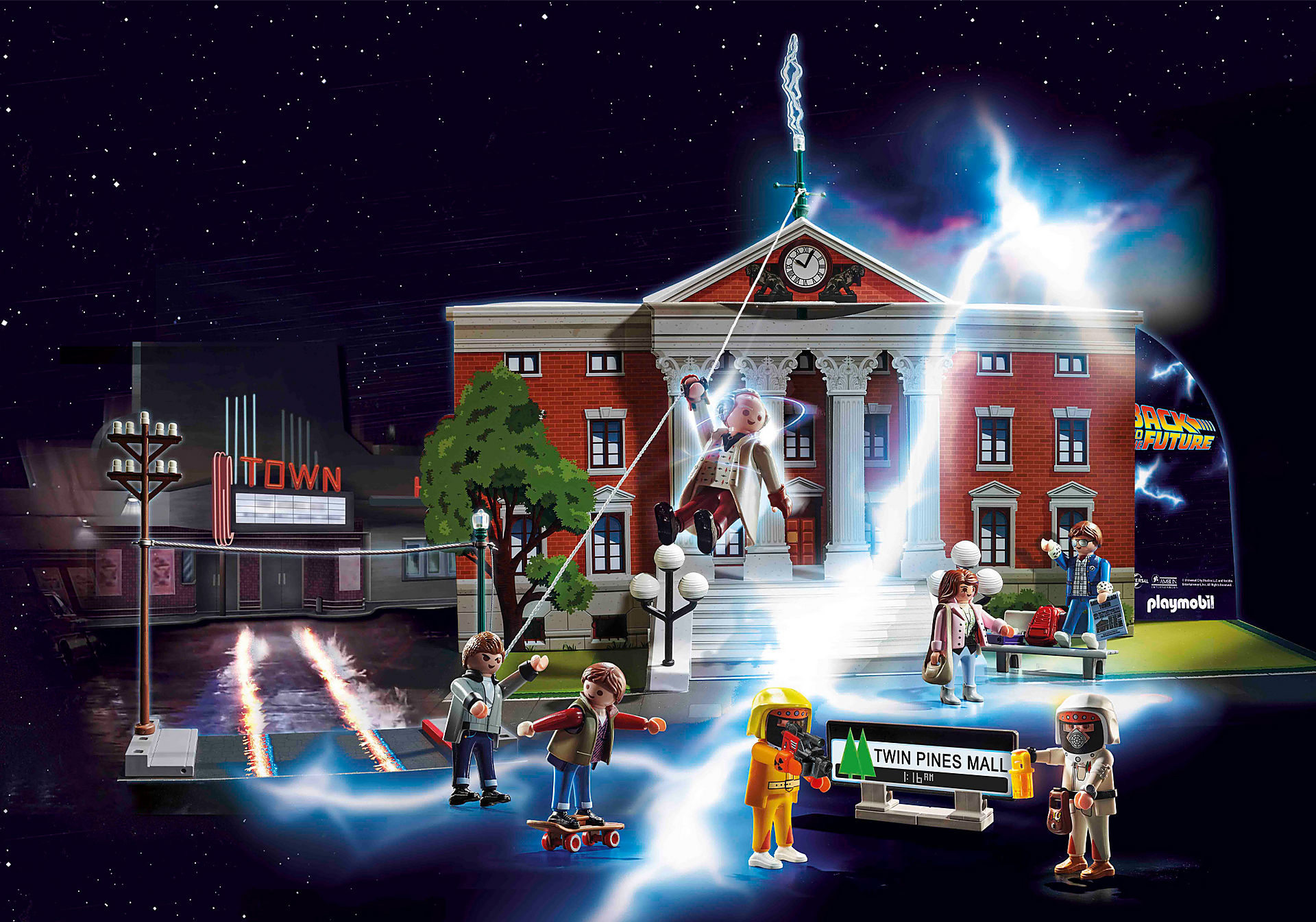 70574 Calendrier de l'Avent 'Back to the Future' zoom image5