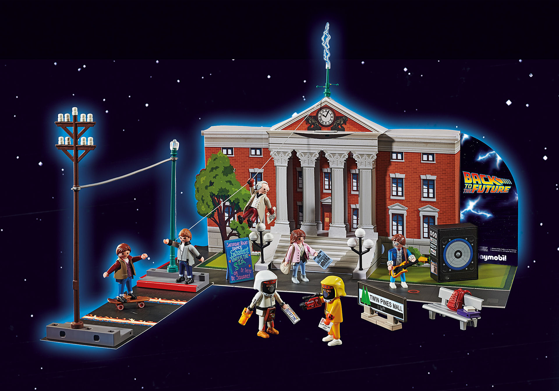 70574 Calendrier de l'Avent 'Back to the Future' zoom image6