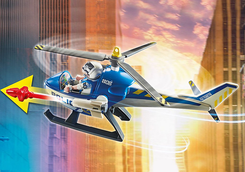 70575 Politiehelikopter: achtervolging van het vluchtvoertuig detail image 4