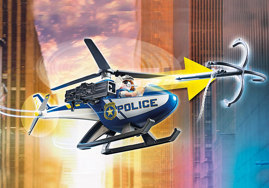 70575 Policyjny helikopter: Pościg za uciekającym samochodem detail image 6