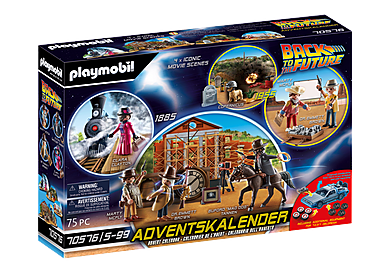 70576 Joulukalenteri Back to the Future Part III