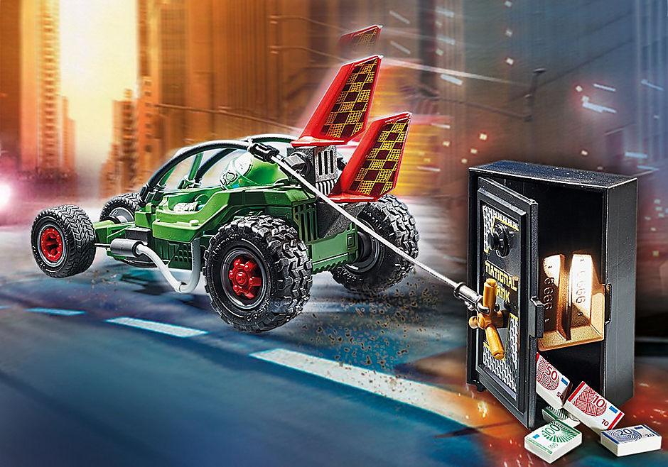 70577 Kart Policial: Perseguição ao ladrão da caixa forte detail image 4