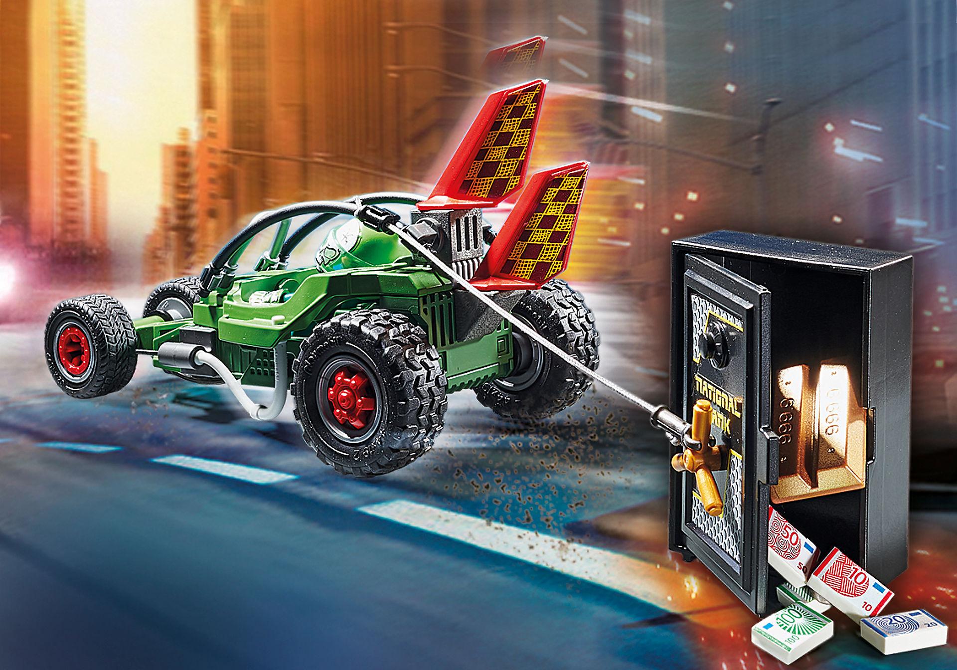 70577 Poliisin mikroauto: Kassakaappiryöstäjän takaa-ajo zoom image4