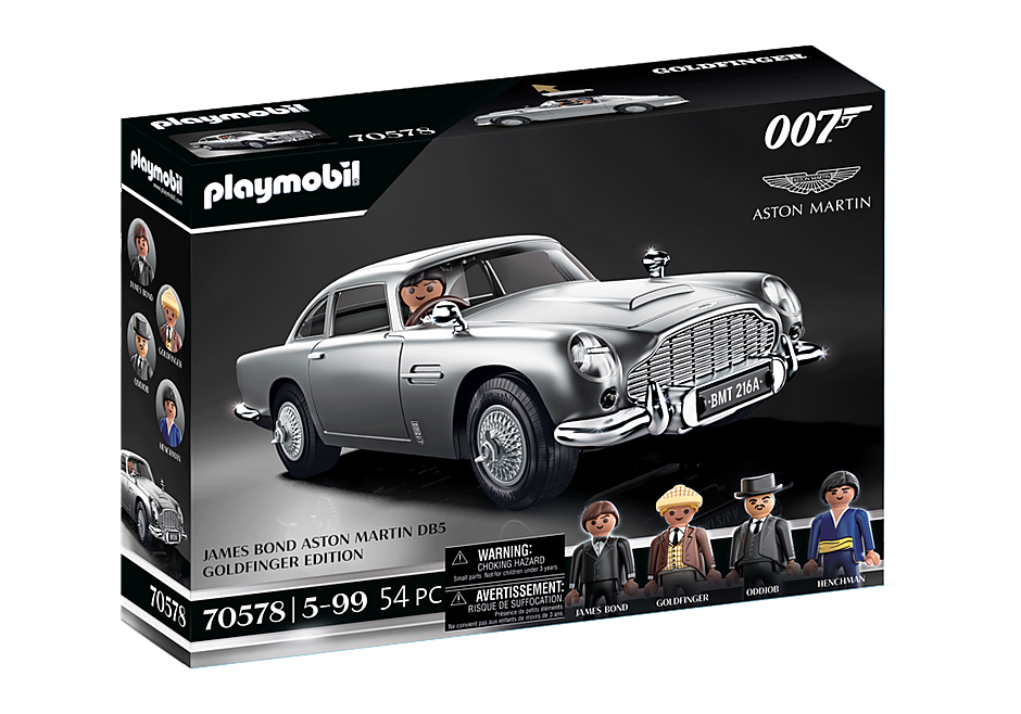 70578 James Bond Aston Martin DB5 - Edición Goldfinger detail image 2