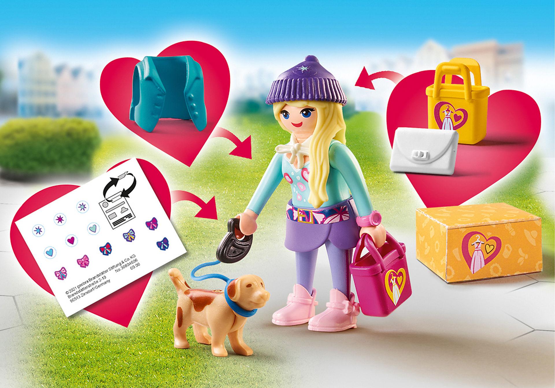 70595 Chica Fashion con Perro zoom image1