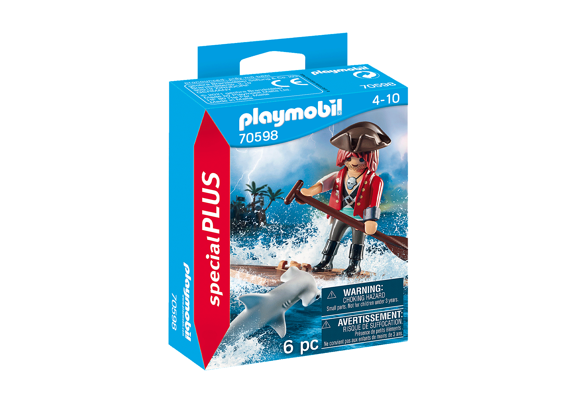 70598 Pirate with Raft zoom image2