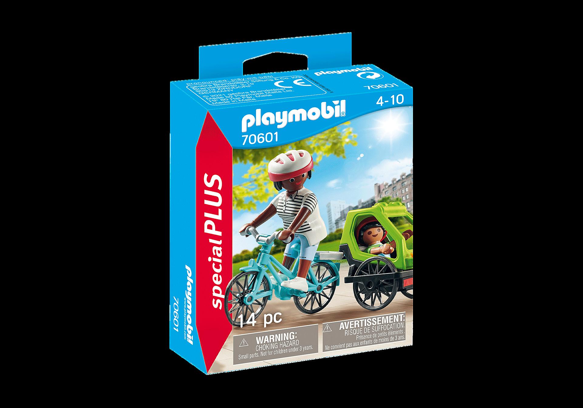 70601 Cyclistes maman et enfant  zoom image2