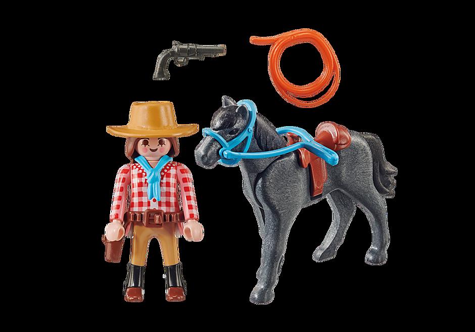 70602 Cavalière et cheval  detail image 3
