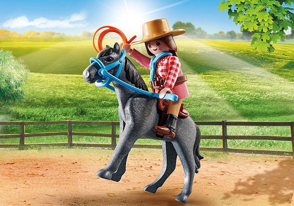 70602 Cavalière et cheval  detail image 1