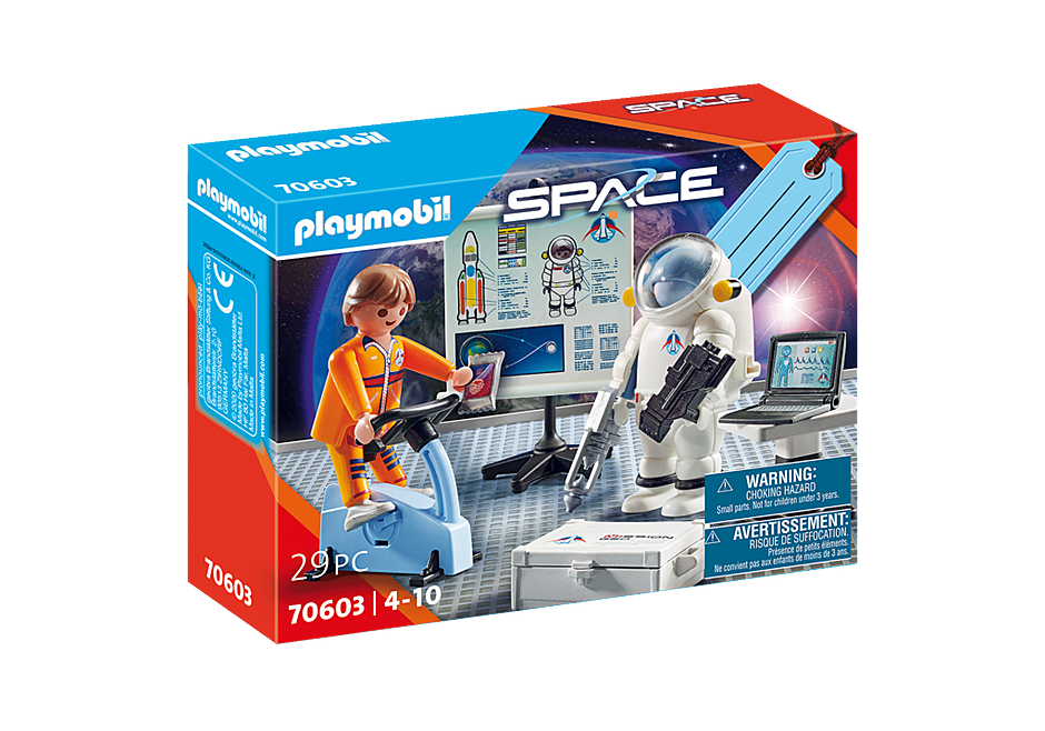 """70603 Presentset """"Astronautträning"""" detail image 2"""