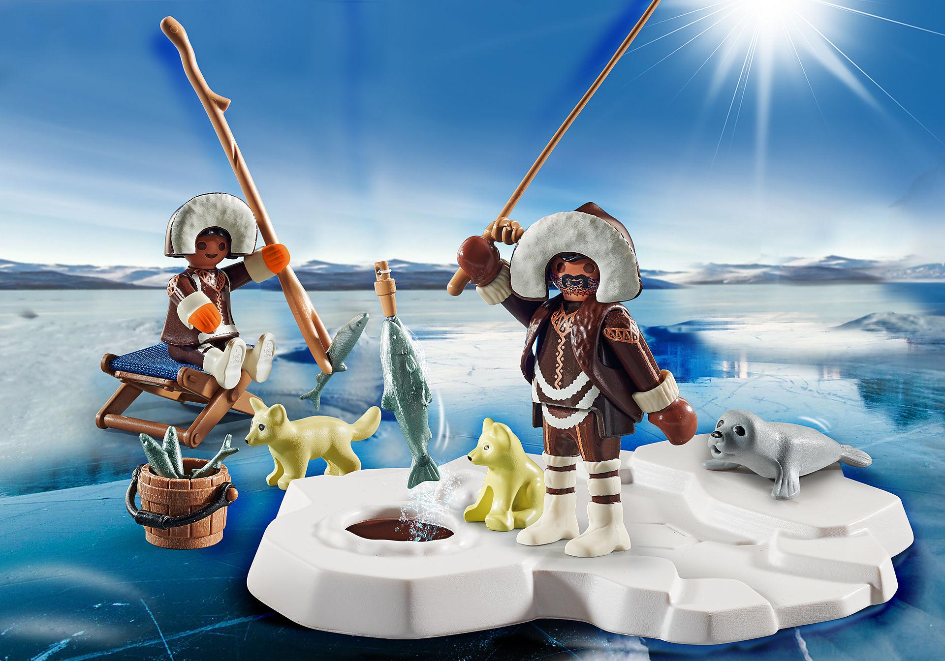 70606 Set cadeau  Pêcheurs sur glace  zoom image1