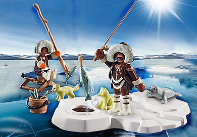 70606 Set cadeau  Pêcheurs sur glace