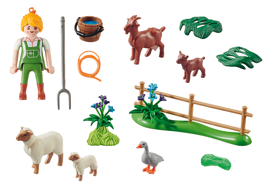 70608 Farmer with Animals Gift Set detail image 3