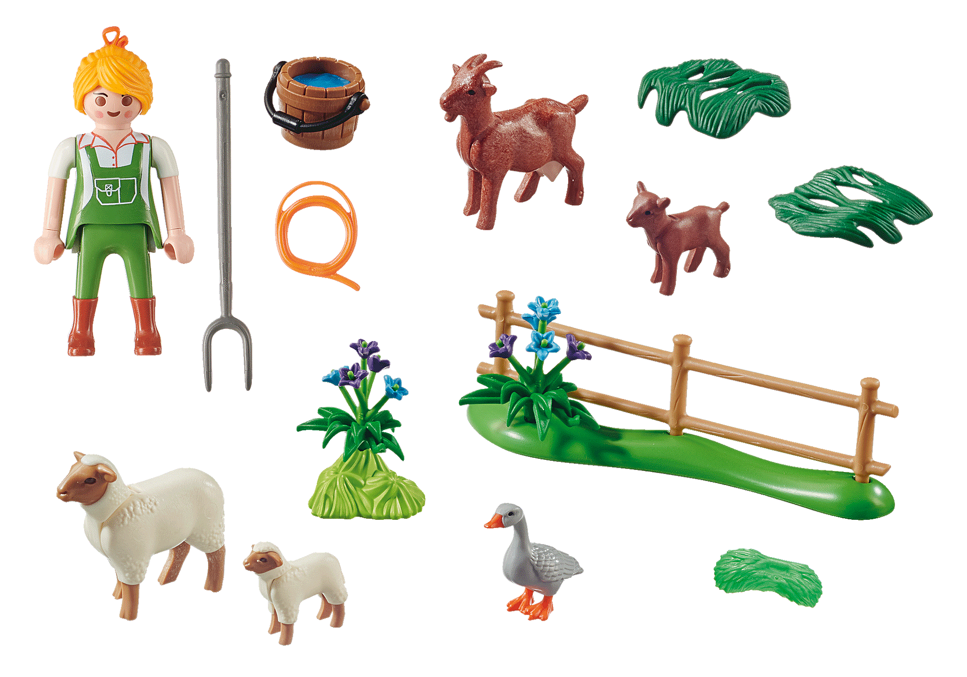 70608 Farmer with Animals Gift Set zoom image3