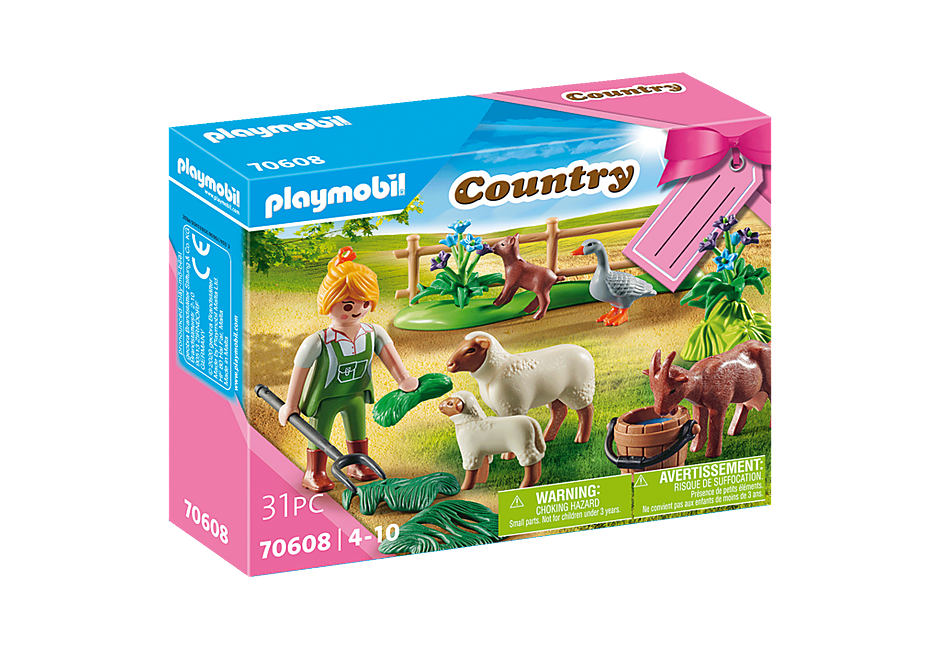 70608 Farmer with Animals Gift Set detail image 2