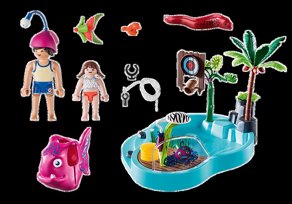 70610 Leuk zwembad met watersplash detail image 3