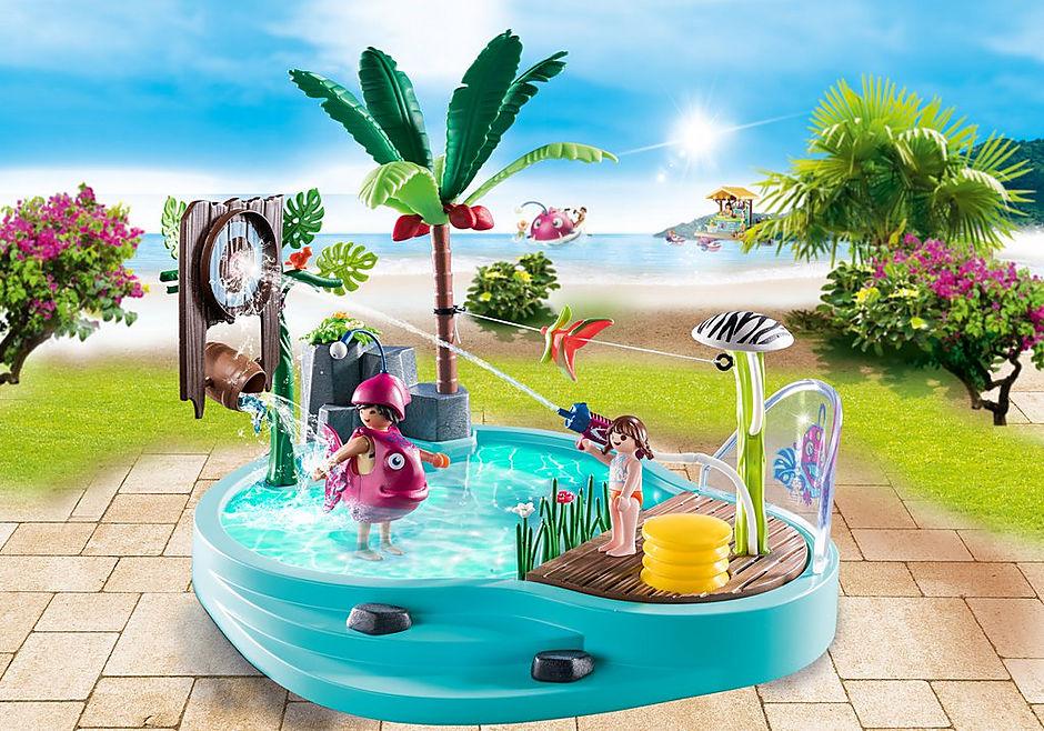 70610 Leuk zwembad met watersplash detail image 1