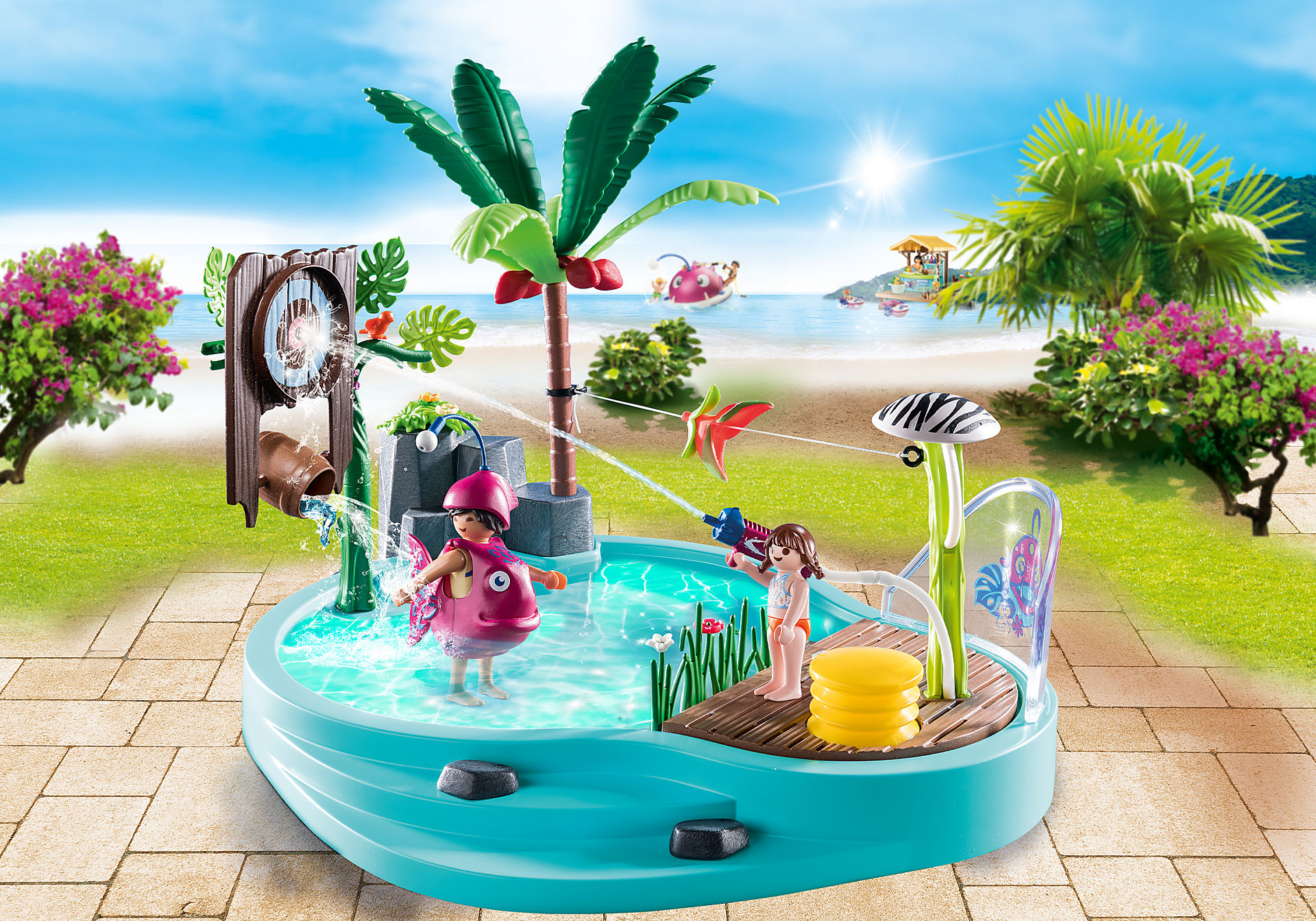 70610 Sjov pool med vandpistol zoom image1