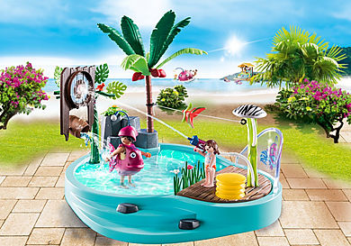70610 Small Pool with Water Sprayer