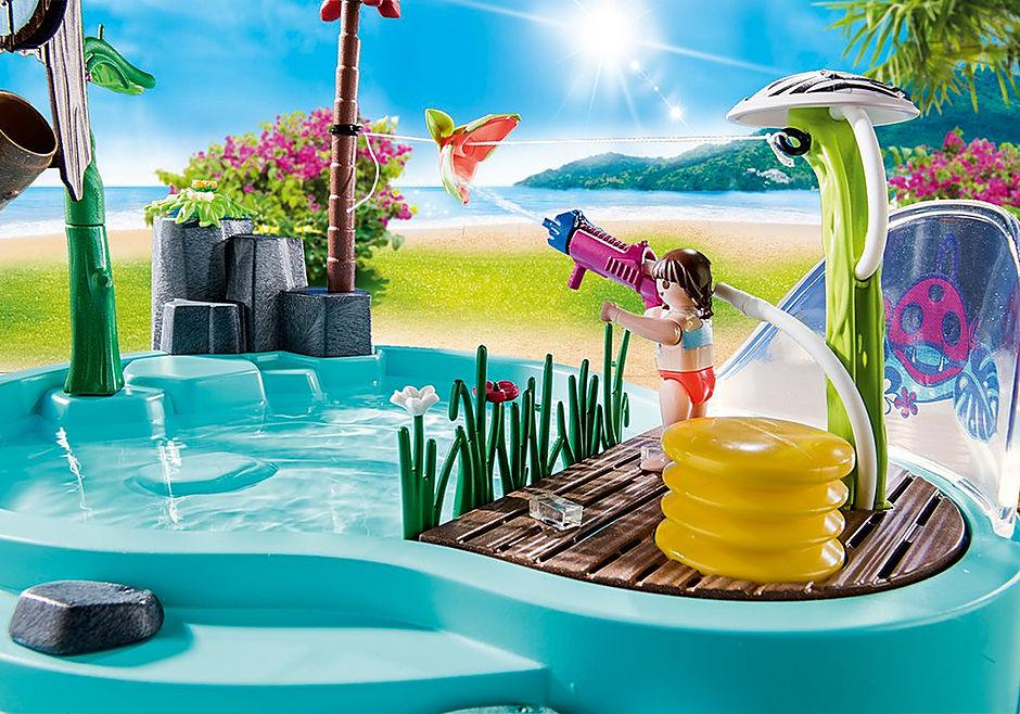 70610 Leuk zwembad met watersplash detail image 4